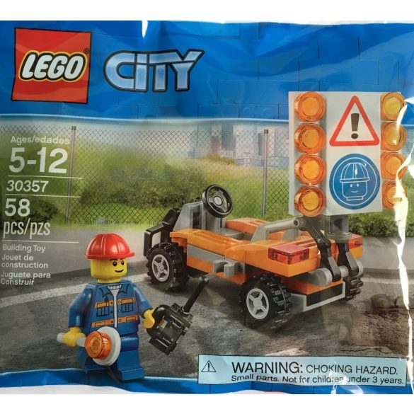 LEGO 30357 City Road Worker