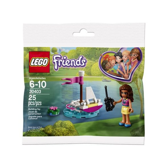 LEGO 30403 Friends Olívia távirányítású hajója