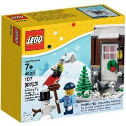 LEGO 40124 Seasonal Téli móka
