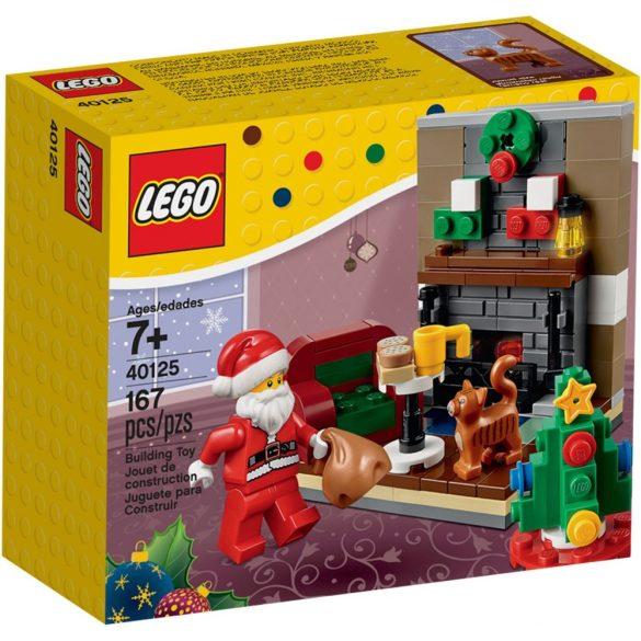 40125 Lego® Seasonal Télapó látogatása