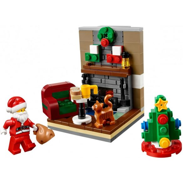 LEGO 40125 Seasonal Télapó látogatása