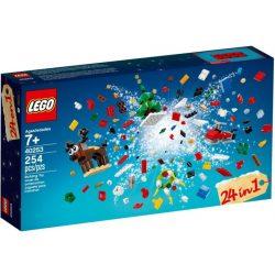 LEGO 40253 Seasonal 24 in 1 Karácsonyi építés