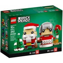 Lego 40274 BrickHeadz Télapó és Télanyó