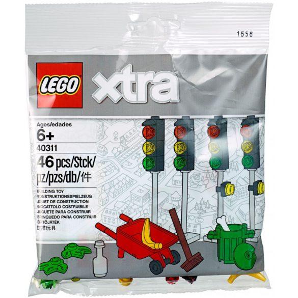 LEGO 40311 Xtra Közlekedési lámpák
