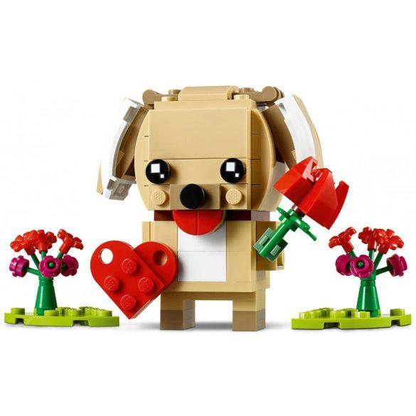 Lego 40349 BrickHeadz Valentin kutyus