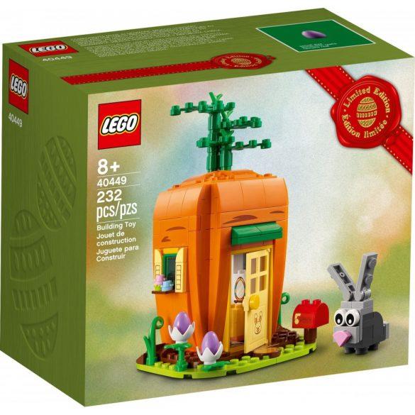 LEGO 40449 Seasonal Húsvéti Nyuszi sárgarépa háza