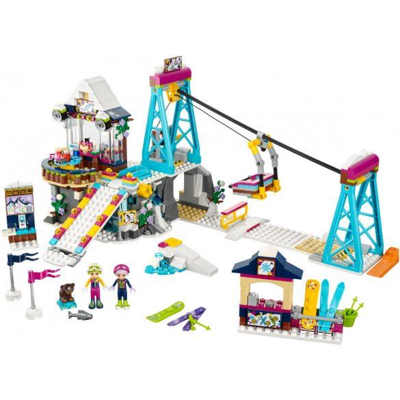 Lego 41324 Friends Sífelvonó a havas üdülőhelyen