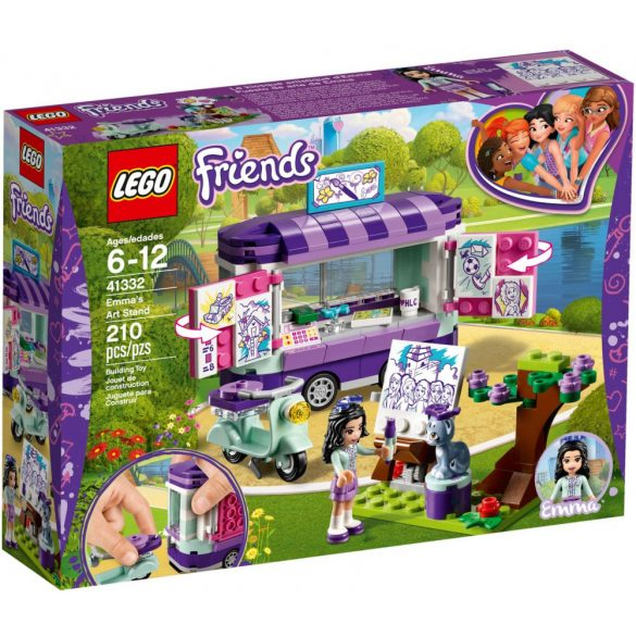 LEGO 41332 Friends  Emma mozgó galériája