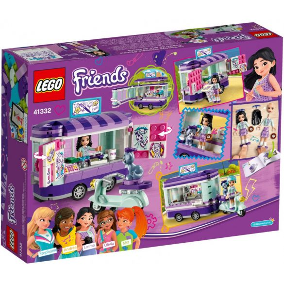 Lego 41332 Friends Emma's Art Stand