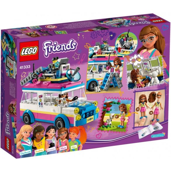 Lego 41333 Friends Olivia's Mission Vehicle