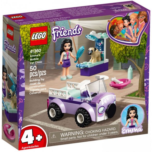 LEGO 41360 Friends Emma's Mobile Veterinary Clinic