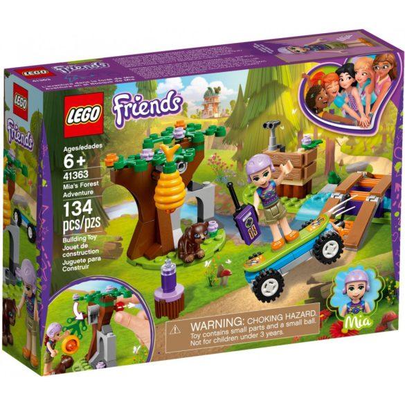 LEGO 41363 Friends Mia erdei kalandja