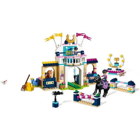 LEGO 41367 Friends Stephanie díjugrató pályája