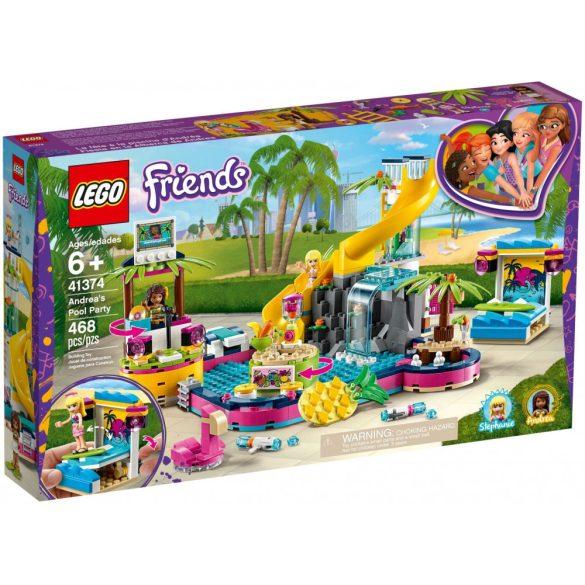 LEGO 41374 Friends Andrea medencés partija