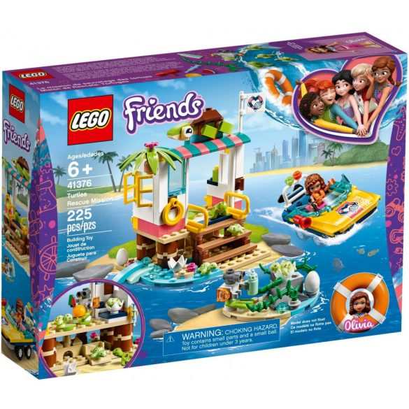 LEGO 41376 Friends Turtles Rescue Mission
