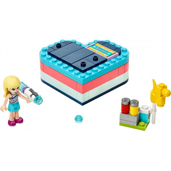 Lego 41386 Friends Stephanie's Summer Heart Box