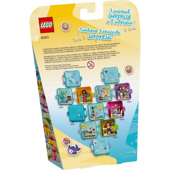 LEGO 41411 Friends Stephanie's Summer Play Cube