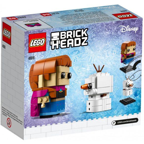 LEGO 41618 BrickHeadz Anna és Olaf