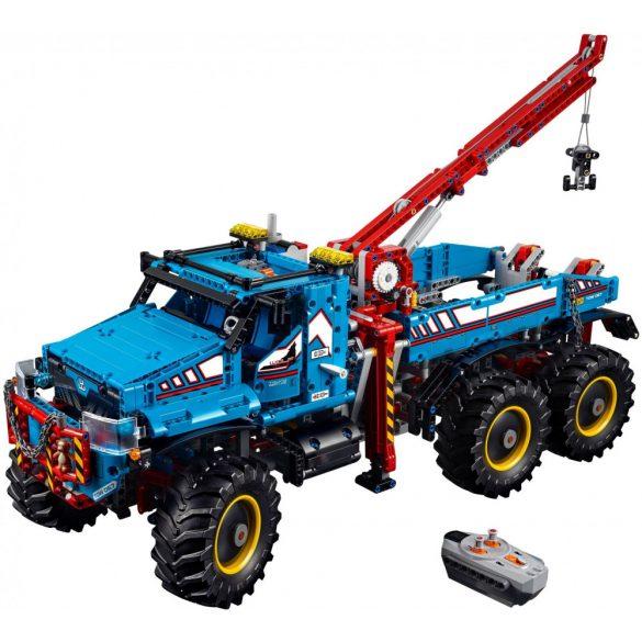 Lego 42070 Technic 6x6 terepjáró vontató