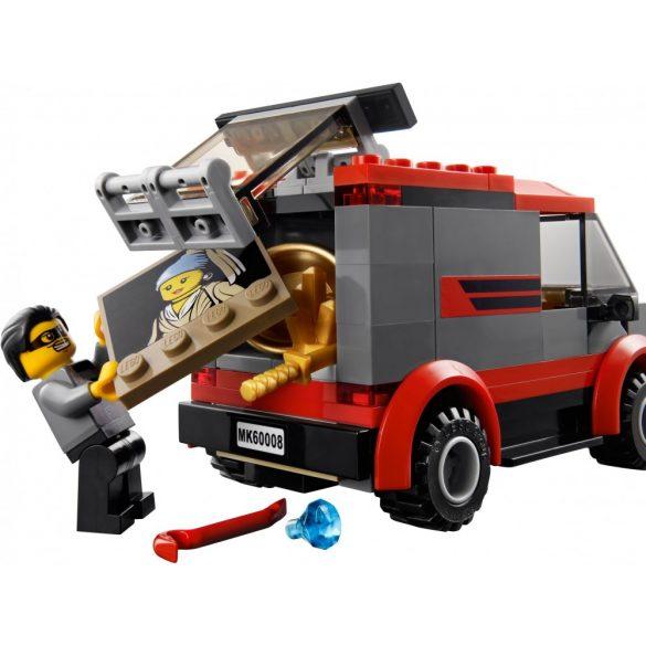 Lego 60008 City Múzeumi betörés