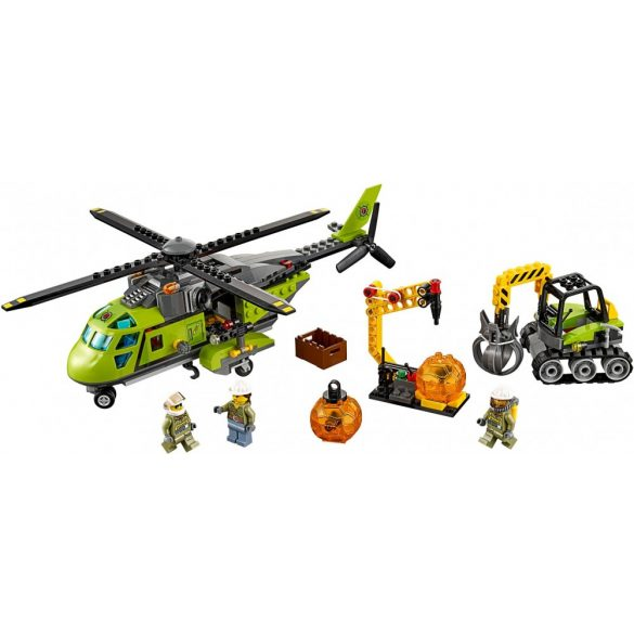 Lego 60123 City Volcano Supply Helicopter