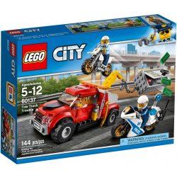 LEGO 60137 City Bajba került vontató