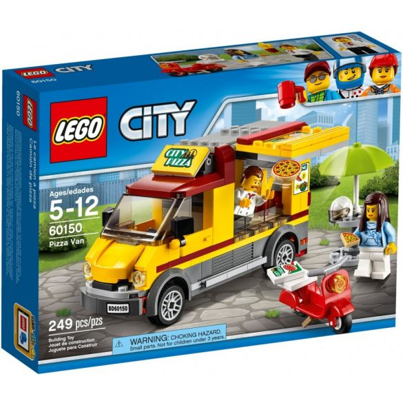 Lego 60150 City Pizza Van