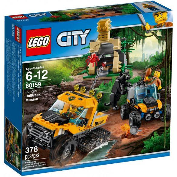 Lego 60159 City Dzsungel küldetés félhernyótalpas járművel