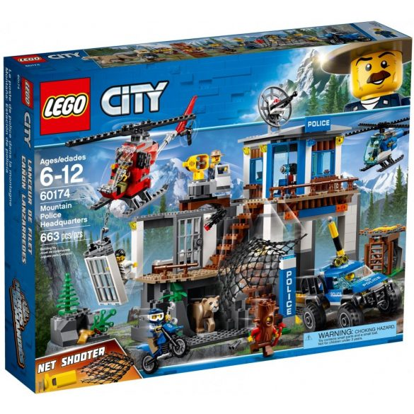 Lego 60174 City Mountain Police Headquarters