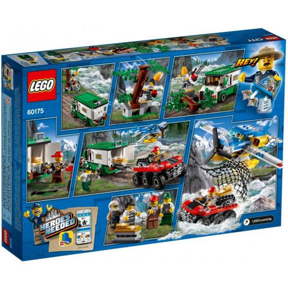 Lego 60175 City Mountain River Heist