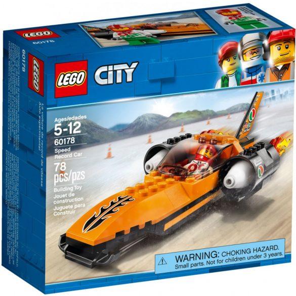 LEGO 60178 City Sebességrekorder autó