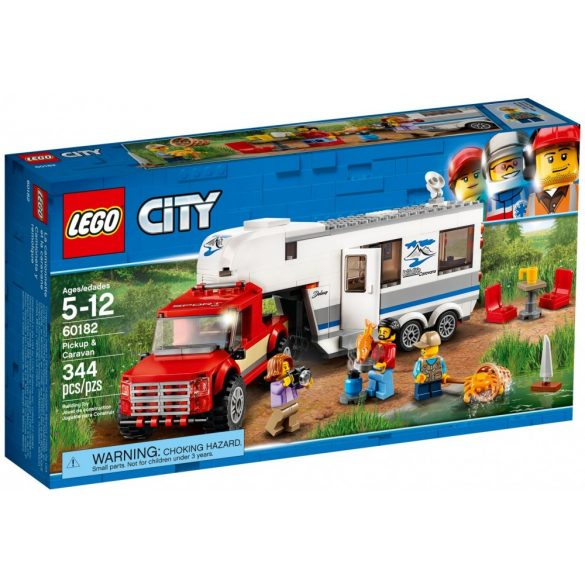 Lego 60182 City Pickup & Caravan