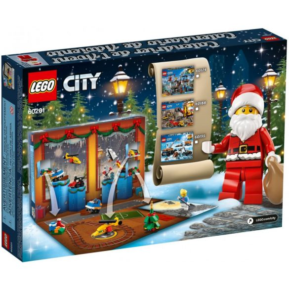 LEGO 60201 City Adventi naptár