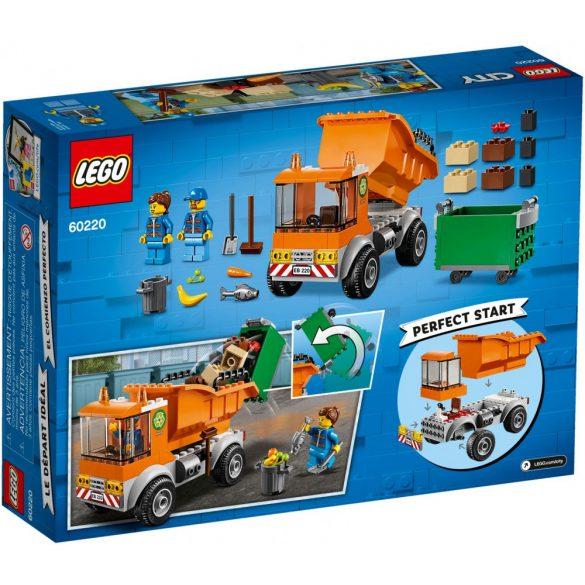 Lego 60220 City Szemetes autó