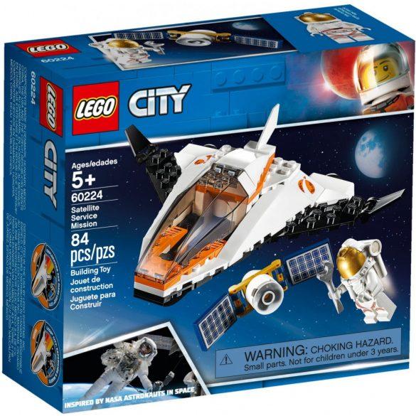LEGO 60224 City Satellite Service Mission