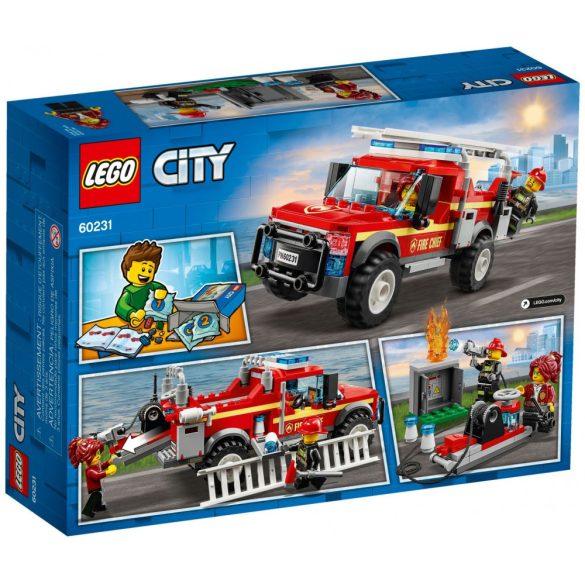 LEGO 60231 City Tűzoltó-parancsnoki rohamkocsi