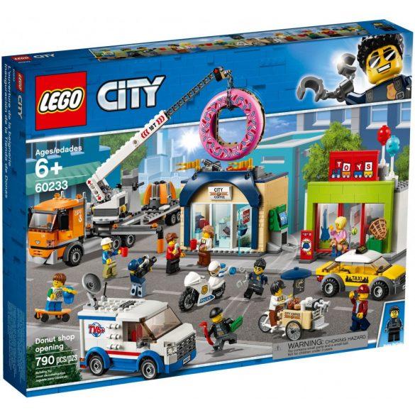 LEGO 60233 City Donut Shop Opening