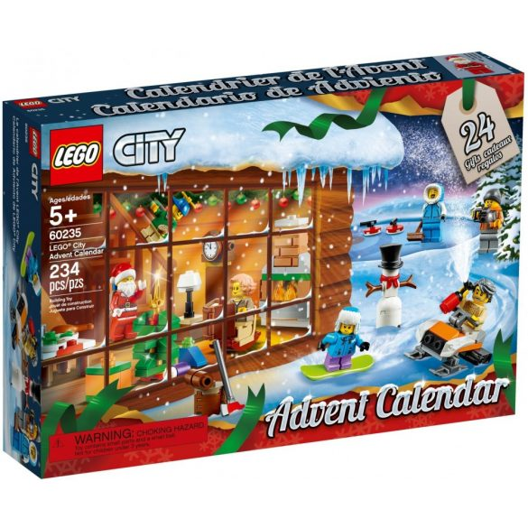 Lego 60235 City Advent Calendar 2019