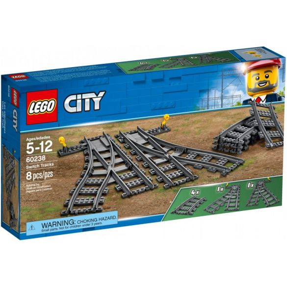 Lego 60238 City Switch Tracks
