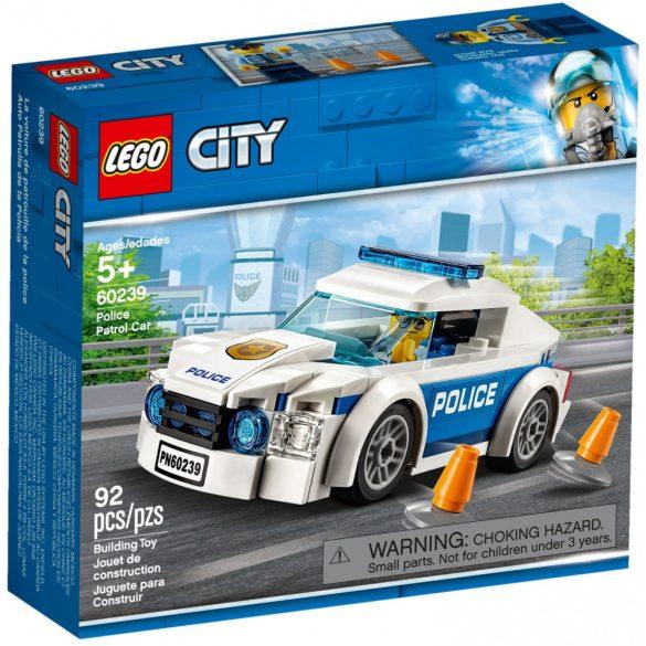 Lego 60239 City Rendőrségi járőrkocsi