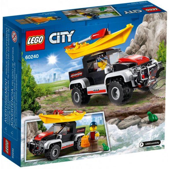 Lego 60240 City Kajakos kaland