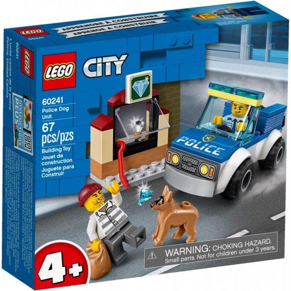Lego 60241 City Kutyás rendőri egység