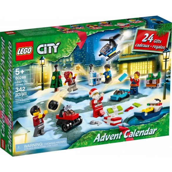 LEGO 60268 City Adventi naptár