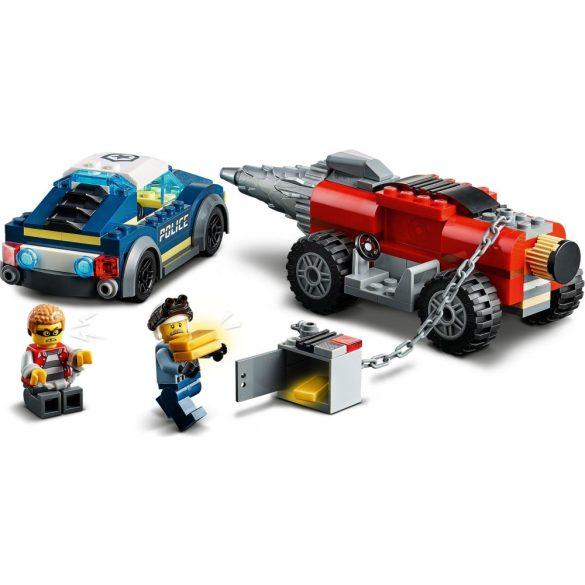 LEGO 60273 City Elit rendőrség fúrógépes üldözés