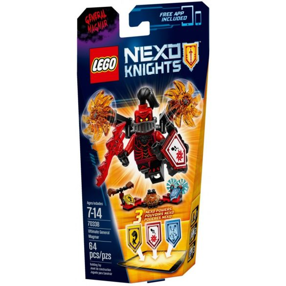LEGO 70338 Nexo Knights Ultimate Magmar tábornok