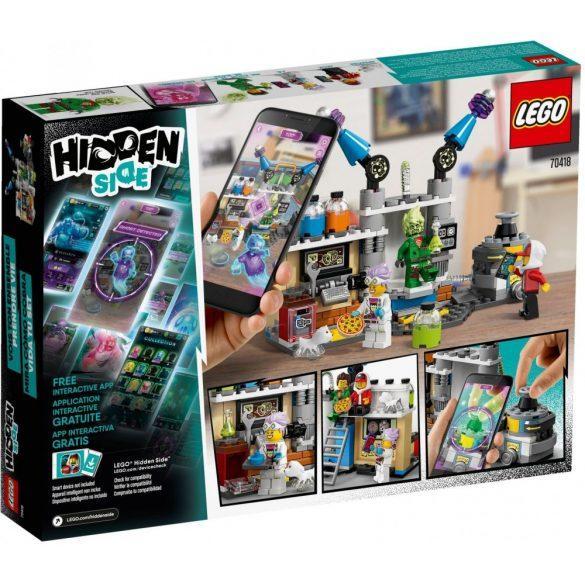 LEGO 70418 Hidden Side J.B. és a szellemekkel teli laborja