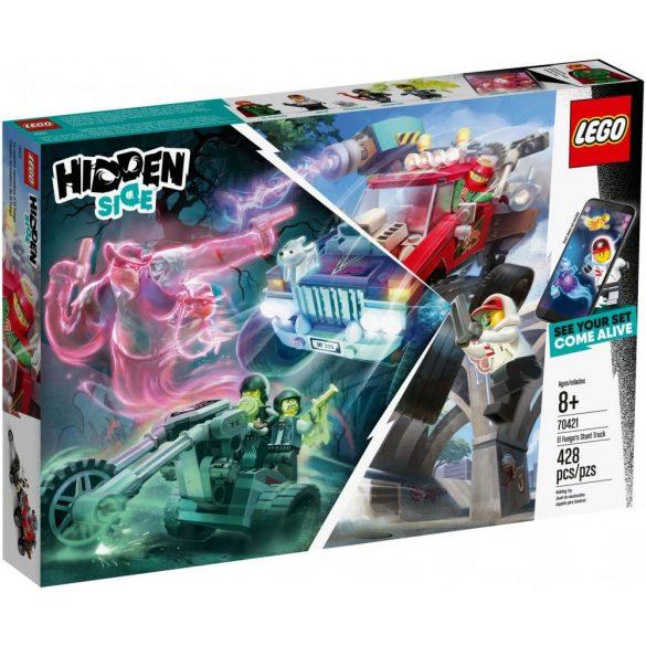 Lego 70421 Hidden Side El Fuego teherautója