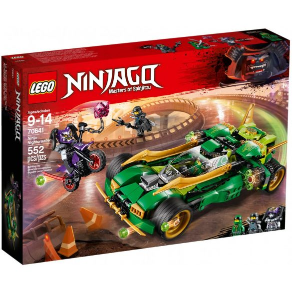Lego 70641 Ninjago Ninja Nightcrawler