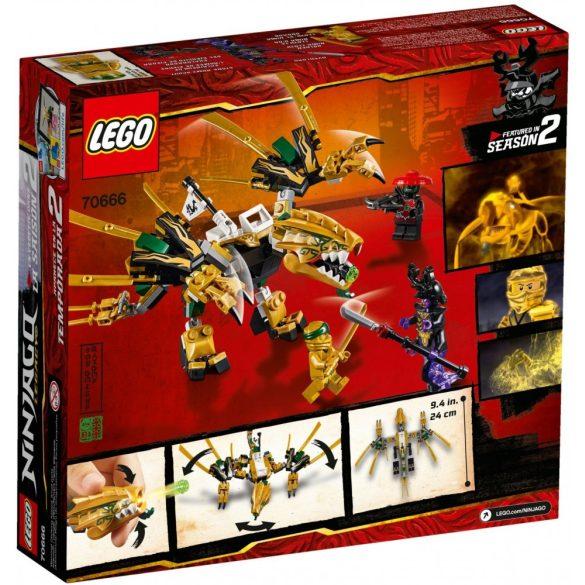 LEGO 70666 Ninjago Az aranysárkány