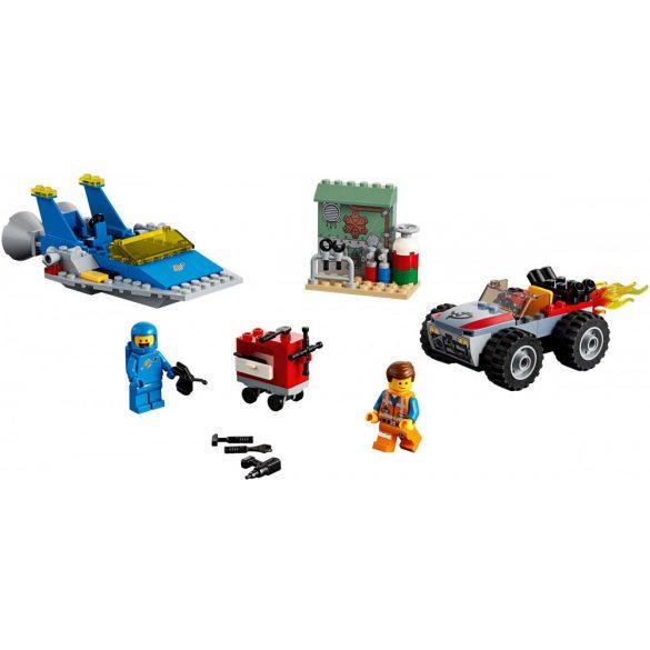 Lego 70821 The Lego Movie Emmet és Benny Építő javító műhelye
